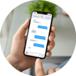 Send and receive interactive text messages that help you sell more cars