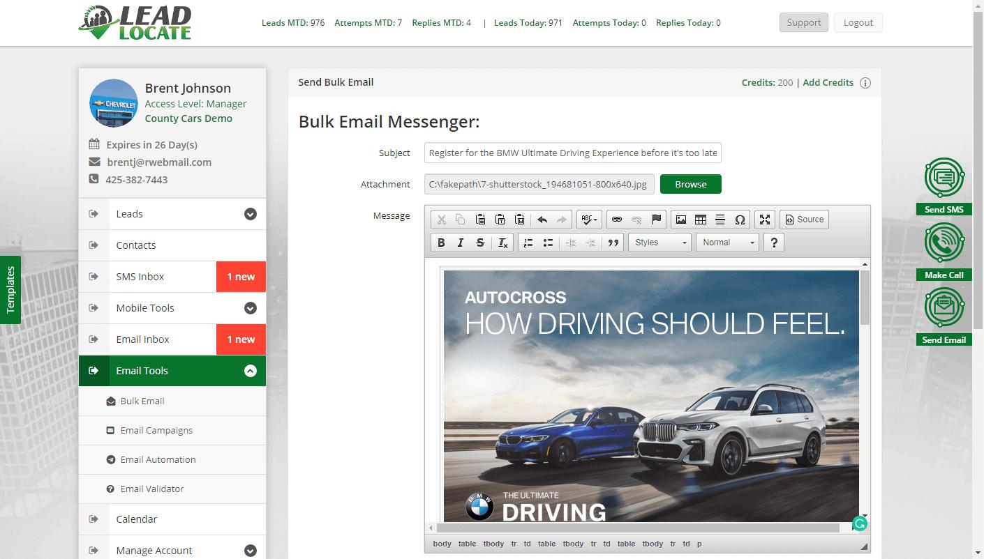 Internet Car Sales Automotive Online Lead Generation